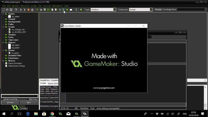 Game Maker Studio (GMS) Entity component-based approach