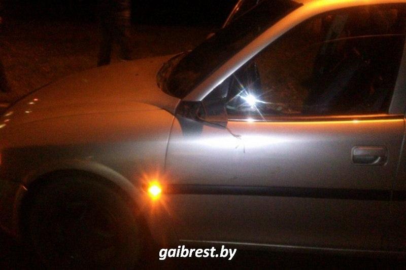 В Ганцевичах водитель совершил наезд на пешехода