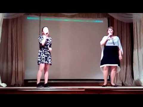 песня Родина исполняют Графенина Мирослава и Шуткина Евгения Анатольевна