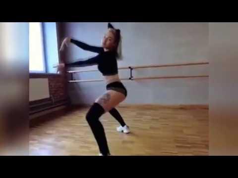 Сумасшедший Тверк. Красивая девушка выдает очень крутые танцы :) CRAZY TWERK VIDEO