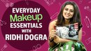 Ridhi Dogra What's in my makeup bag Pinkvilla Fashion Bollywood