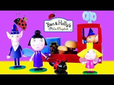 Маленькое королевство Бена и Холли - играю в Маленькое королевство Бена и Холли