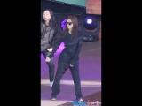 171028 BLACKPINK - PLAYING WITH FIRE (Jennie focused rehearsal) @ Pyeongchang Music Festa