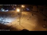 Случай вандализма на площади им.С.Орджоникидзе
