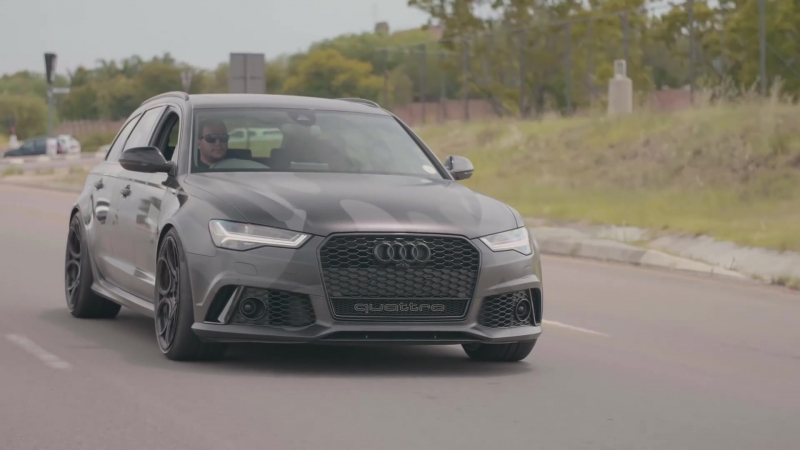 Audi RS6 Avant Quattro (C7) w⁄ ARMYTRIX Cat-Back Flap Exhaust By RACE! South Africa