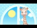 Жираф Софи - Учим цвета – Красный и Жёлтый - Мультик 1 - Подпишитесь на нас -svk/teremok_tv