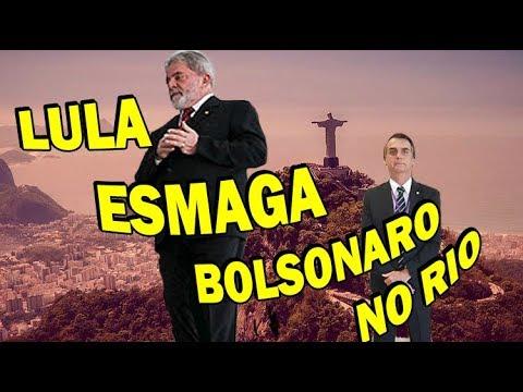 Bolsonaro desafia Lula, mas perde feio dele no Rio