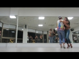 Kizomba Fusion demo from Chavy & Rocio in Backstage Dance Festival