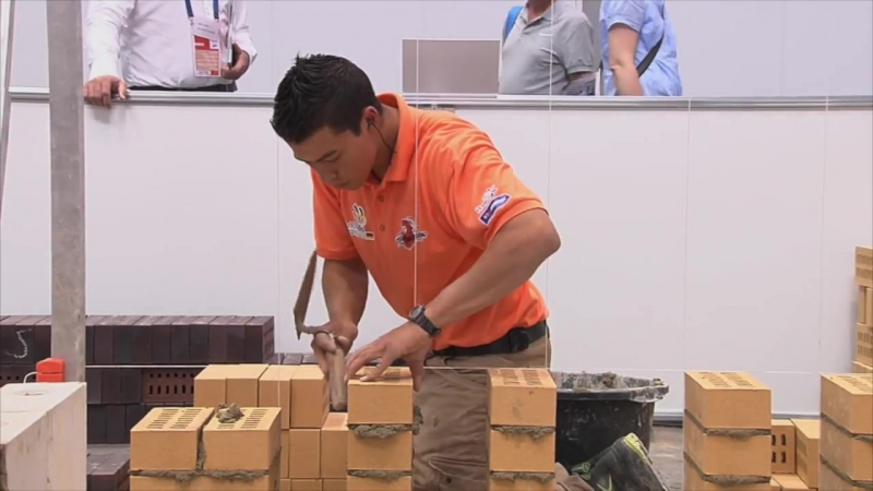 A New Look At Skills, 2015- 20 Bricklaying