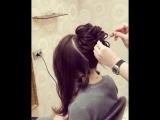 Причёска для настоящей королевы!
