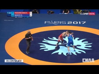 Чемпионат Мира по борьбе 2017 Финалы Мужчины вольная борьба 25 августа 2017 H. Yazdanichara vs