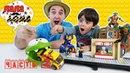 Папа Дома • Папа Роб и Ярик собирают станцию Лего Сити LEGO City! Часть 2