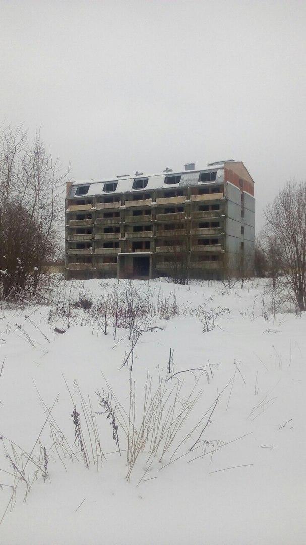 Недостроенный дом в Истринском районе