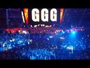 Canelo and Golovkin ring entrances FIRST ROUND