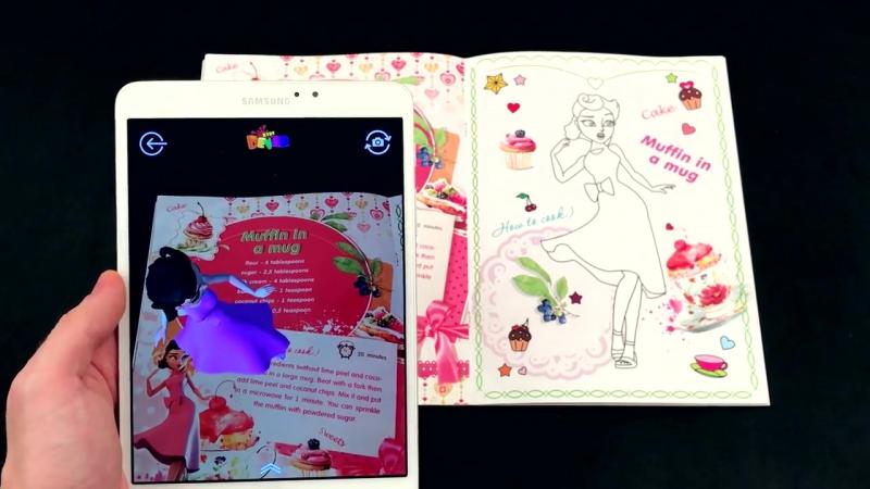 Принцессы-Феи- Школа сладостей и Королевские десерты - новые раскраски от DEVAR kids!