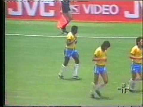 Copa 1986: Brasil 4x0 Polônia