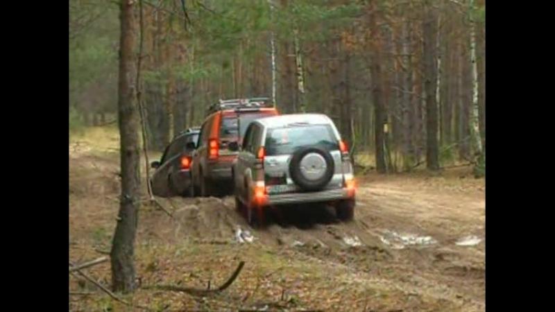 Карданный вал. большой тест-драйв.Toyota Prado. Volkswagen Touareg. Land Rover.