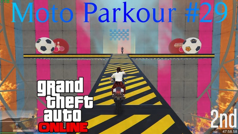 GTAV - Moto Parkour 29