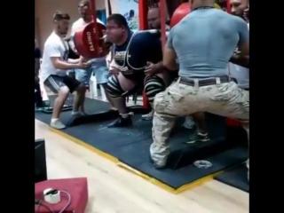 Влад Алхазов - присед 500 кг