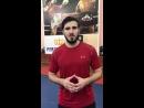 🔥 Пожелание удачи и побед сборной России по тайскому боксу от Артема Вахитова 💪🏻
