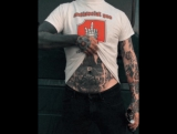 antisocial pro tshirt and domes tatoo