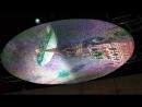 Панно на потолке имитирующее мозаику в Историческом парке Россия моя история