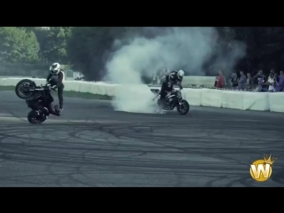 Bikers Are Awesome 2017 [Best Of Drifting And Stunt]