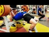 Александр Бабин - жим лежа 250 кг