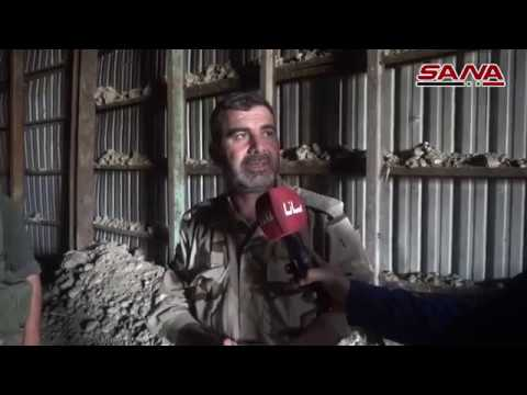 Сеть траншей и туннелей террористов «Армия Ислама», простирающихся между Дума , Аш-Шифуния и Месраба