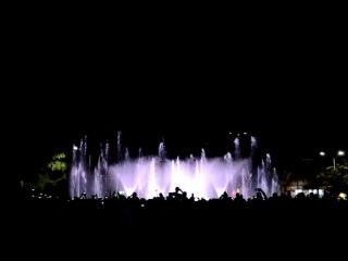 Открытие музыкального фонтана в Чайковском