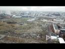 Территория бывшего Черкизовского рынка на востоке Москвы с высоты птичьего полета