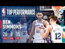Ben Simmons Fills The Stat Sheets On Easter!