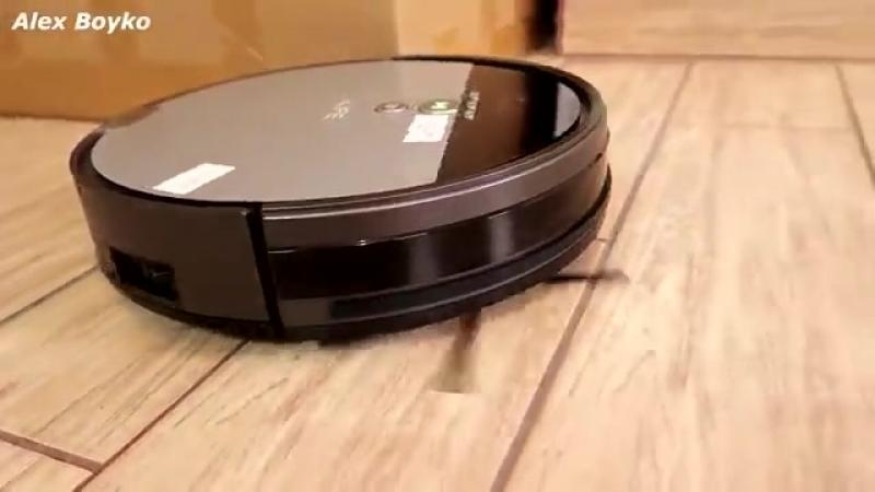 Робот пылесос ILIFE V8S против Гороха Огромный контейнер для мусора alex boyko