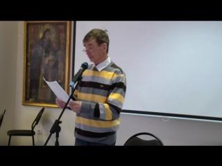 Выступление поэтов в клубе