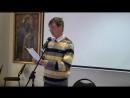 Выступление поэтов в клубе Свободный литературный микрофон