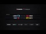 смотрю SL i-League StarSeries Season 4 Team Liquid сыграют с mousesports, Na'Vi  с FaZe Clan