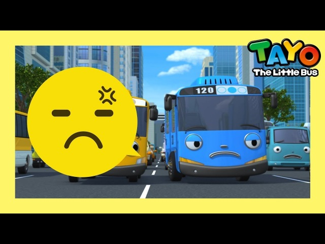 Tayo yield to others l Having Good Habits l Tayo the Little Bus