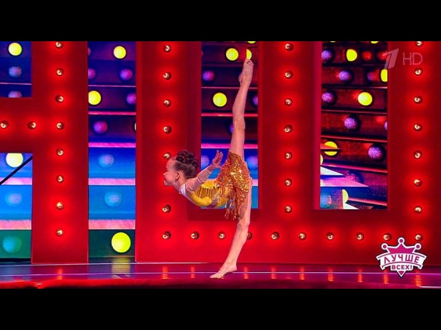 Гибкая гимнастка Светлана Белова. Лучше всех! Фрагмент выпуска от18.03.2018