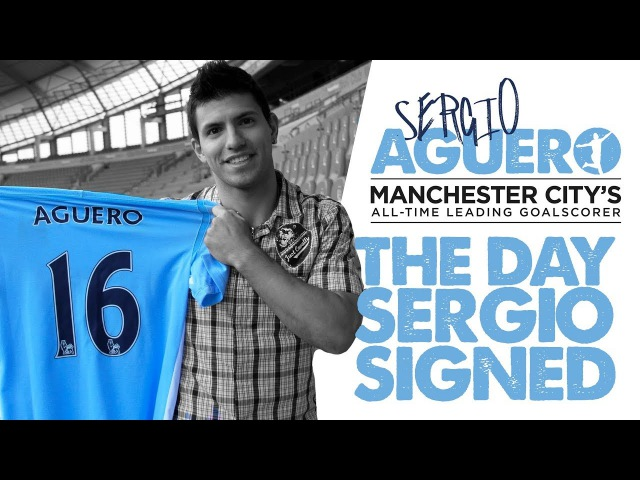 THE DAY SERGIO SIGNED   Story behind Aguero's signature