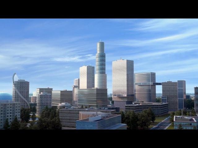 Видео: Архитектурная визуализация проекта «Амурская Пальмира»