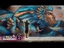 RISK Badass Mural in Cali Policromia Tour EP06