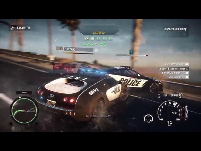 Veneno был наказан повторно (Need for Speed Rivals)