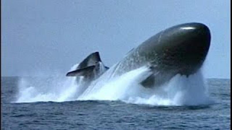 Submarines emergency surfacing, экстренное всплытие подводных лодок