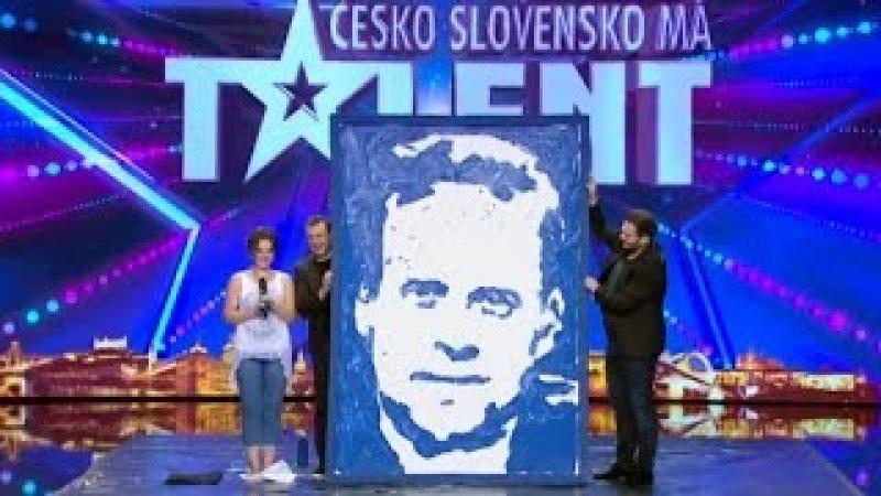 ČESKO SLOVENSKO MÁ TALENT 2016 - Sviatlana Sauchuk