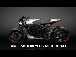 Keanu Reeves & Arch Motorcycle Method 143 V-Twin Concept