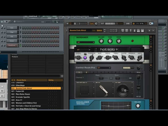 RealStrat and Guitar Rig 5 - Preview