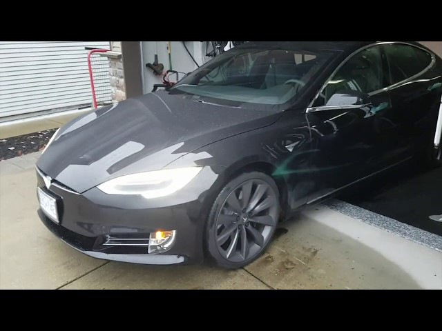 Black on Black Tesla Model S 100D!! Brand New!!