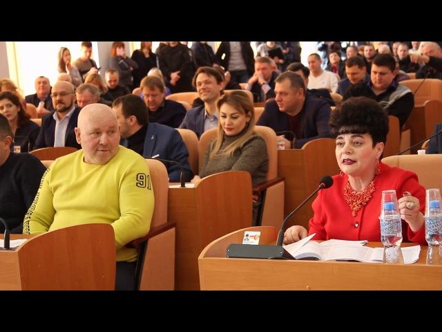 Ссора депутатов во время сессии Каменского горсовета (после драки)