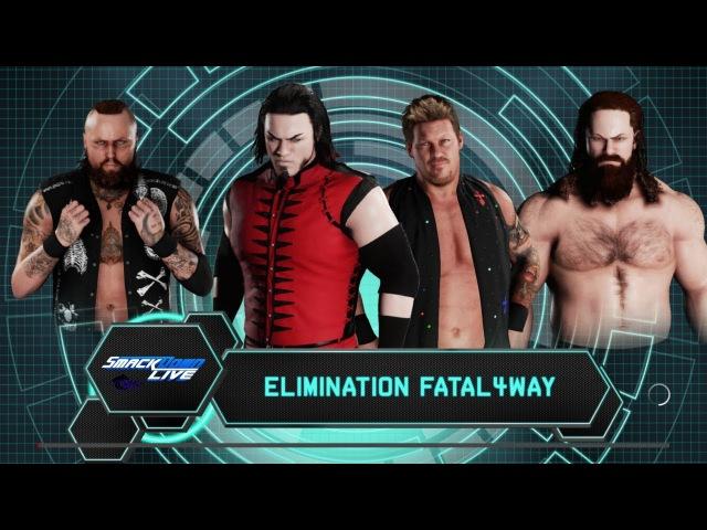 SBW SmackDown - Kevin Thorn vs Chris Jericho vs Aleister Black vs Mike Knox