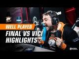 WELL PLAYED | Победа в Катовице! Лучшие моменты финала против Vici Gaming